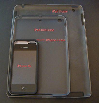 Чехлы для iPad mini и iPhone 5