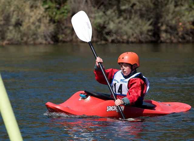 Junior kayaker