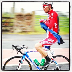 Tour of Britain whizzes past at Plumton