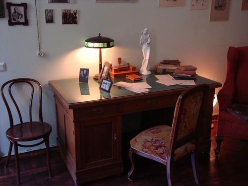 Anna Akhmatova's desk
