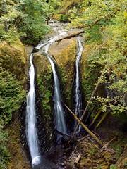 Triple Falls, Columbia River Gorge Oregon