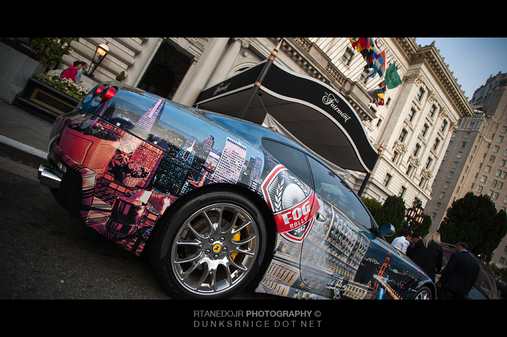 2012 Annual FOG Charity Rally Fairmont Hotel San Francisco CA.