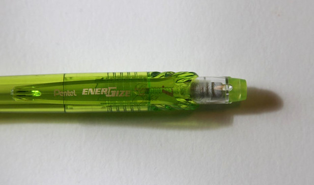 Review: Pentel EnerGize-X Mechanical Pencil 0.7mm - Light Green