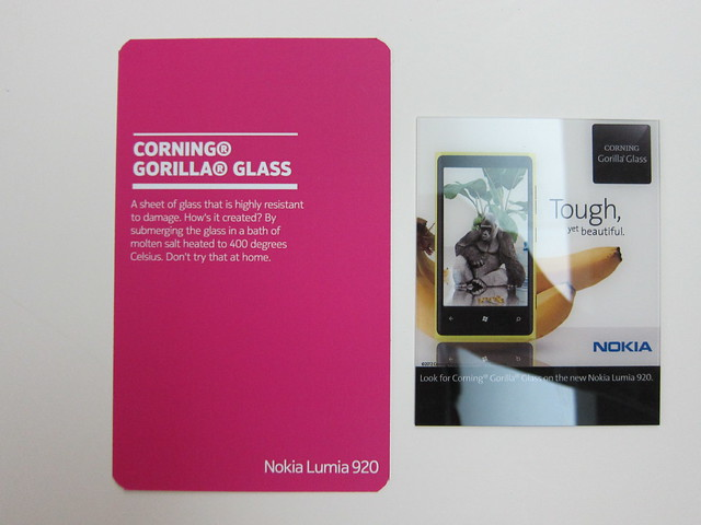 #4: Corning Gorilla Glass