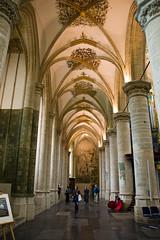Breda - Intérieur de l'Eglise Grote of Onze Lieve Vrouwekerk