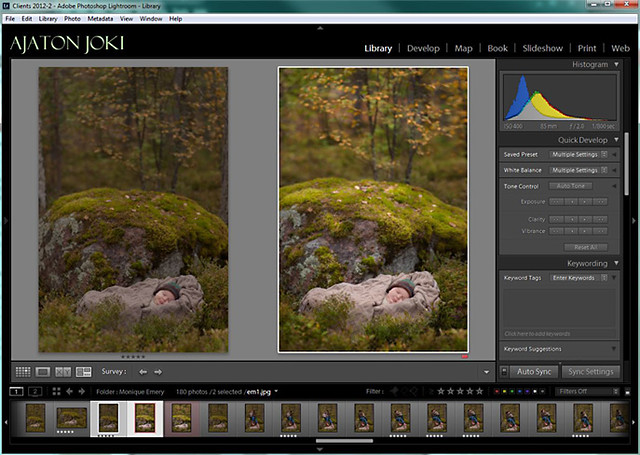 Editing webinar for portrait photographers