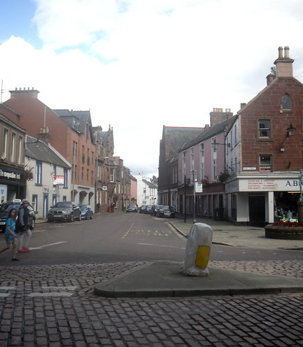a street in Kirriemuir.