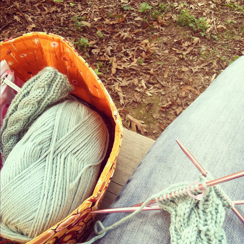Knitting for fall