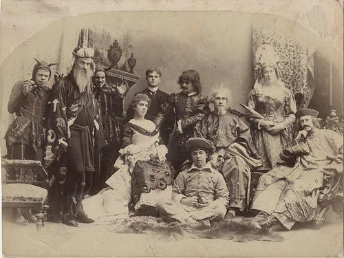 Actors from the Harvard Hasty Pudding Club - 1880s