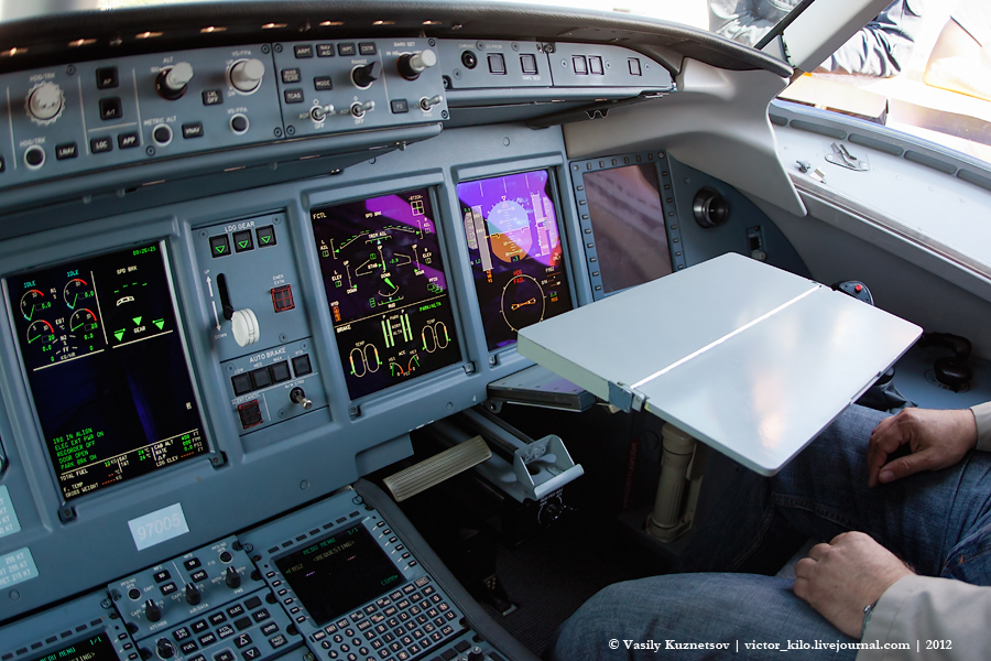 SuperJet cockpit Table