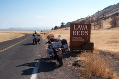 Arriving at Lava Beds National Monument