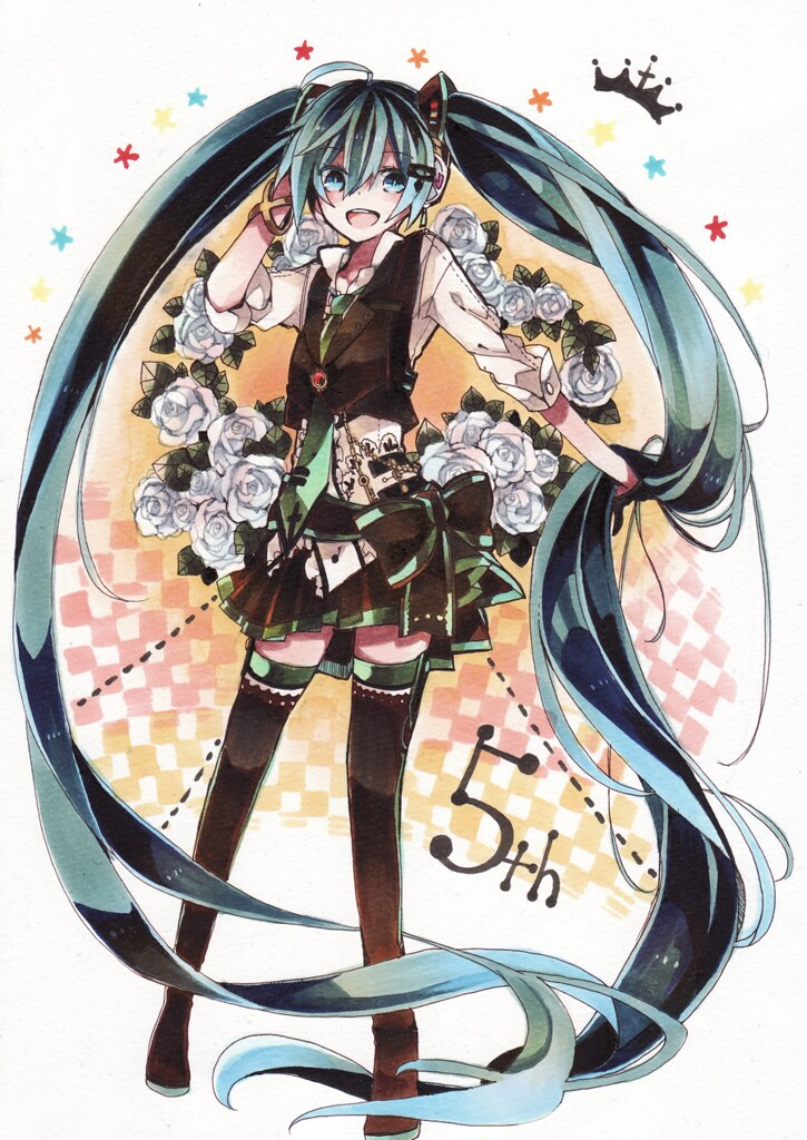Miku Monday #136 (CXXXVI) - Hatsune Miku, 5º Aniversario (III)