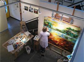 Alice Rich, Visual Artist, Vancouver BC, Studio 13 fine art gallery, granville island