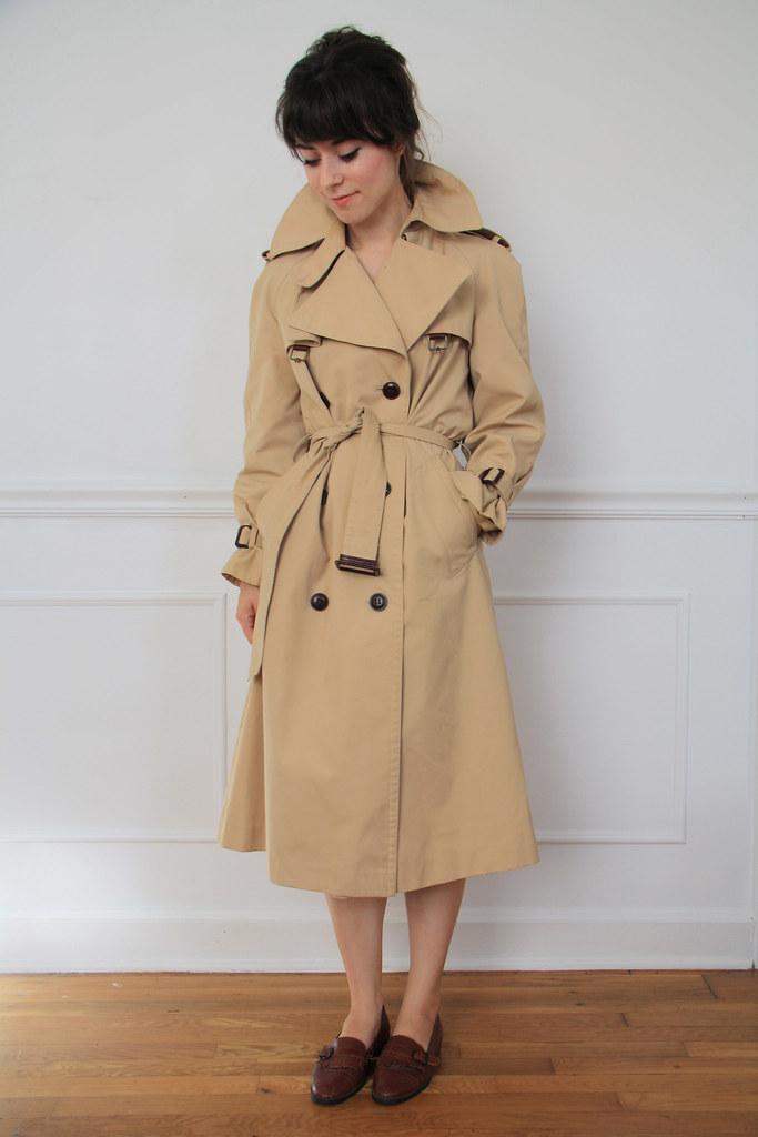 1970s classic trenchcoat