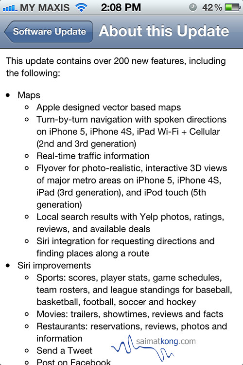 Download & Update iOS 6 for your iPhone, iPad, or iPod touch now!