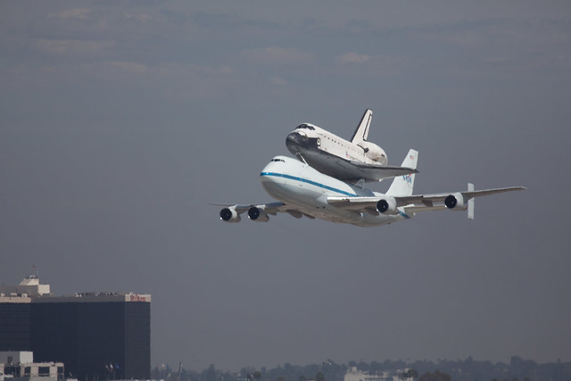 Space Shuttle Endeavour at LAX