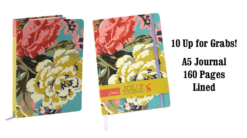 Joules Clothing - A5 JOURNAL Front & Back