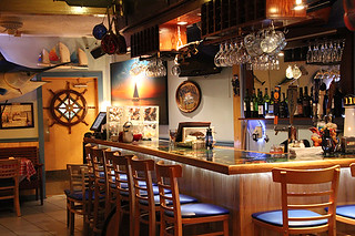 Bar Area, Lobster Pot, Siesta Key, Sarasota, FL, Restaurant Review