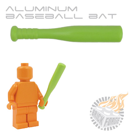 Aluminum Baseball Bat - Lime Green