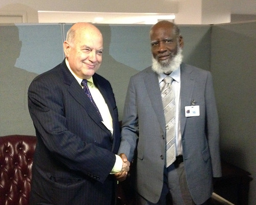 OAS Secretary General Meets with Foreign Minister of Belize