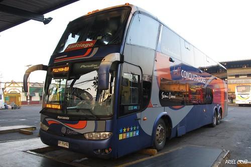 Los Conquistadores (Pullman Bus) | Terminal Sur | Marcopolo Paradiso 1800 DD / BYFG82