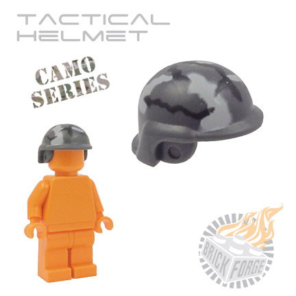 Tactical Helmet - Dark Blueish Gray (camouflage)