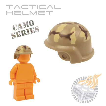 Tactical Helmet - Dark Tan (camouflage)