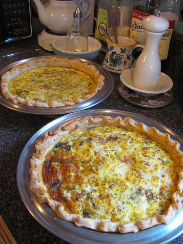 Thursday night quiche by Stephanie Distler