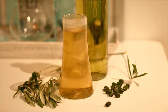Lag ditt eget uttrekk av olivenblader