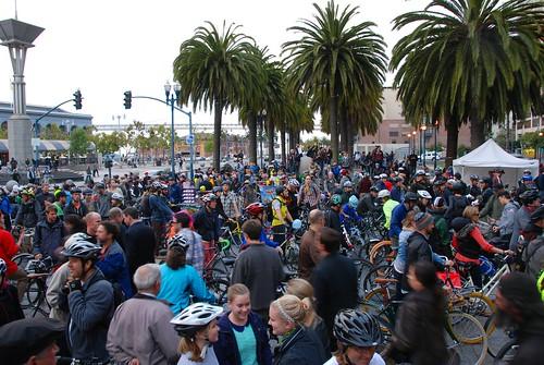 20-årsjubileum för Critical Mass i San Francisco