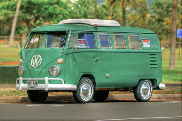 Ticketed And For Sale  1967 Vw Van
