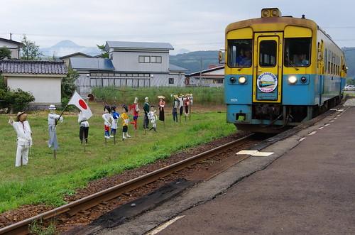 由利高原鉄道 YR1500形3両サヨナラ運転 #13