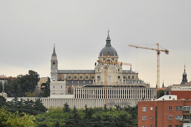 Madrid, Museo de Colecciones Reales. Mansilla + Tuñón