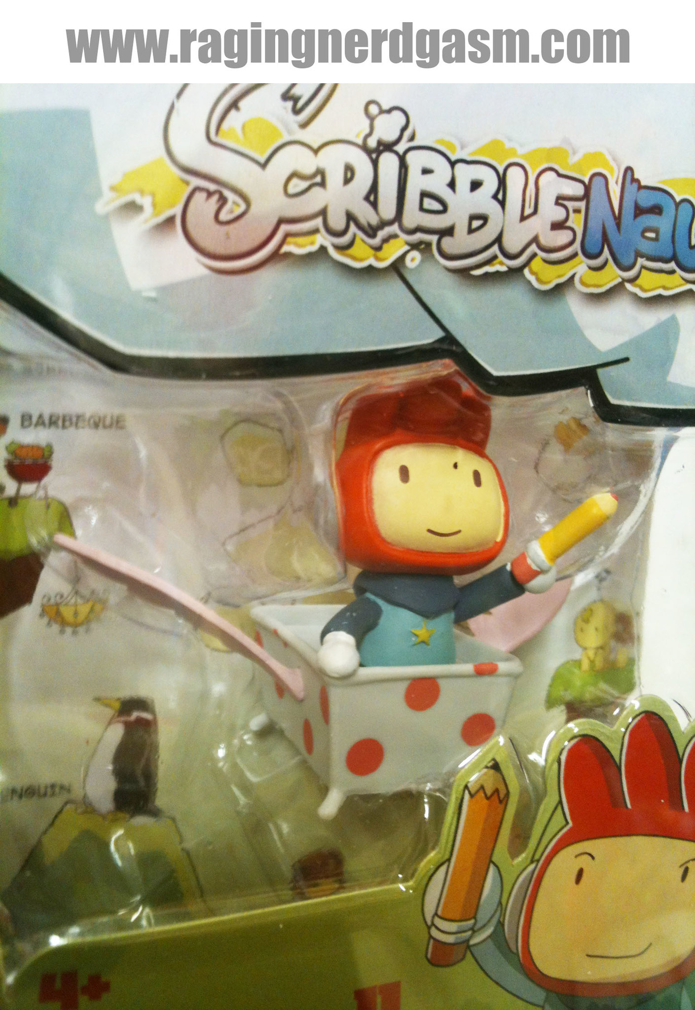 ScribbleNauts by Jazwares Maxwell Collectible Figure 007