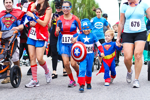 CASA Superhero Run, Austin, September 21, 2013