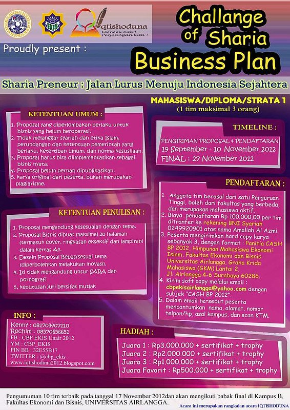 lomba business plan