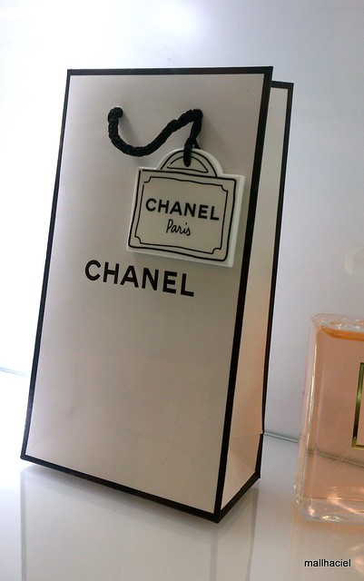 Cut Chanel tag
