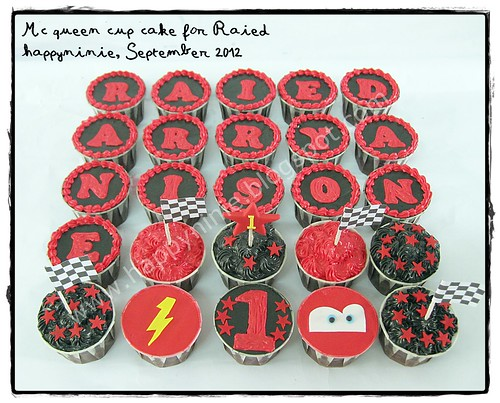 cupcake mcqueen