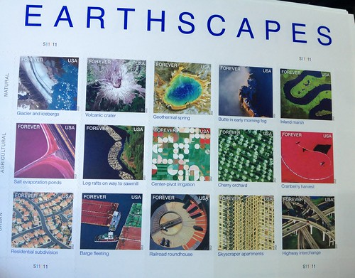 Earthscape Stamps USPS