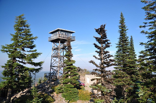 Flag Point fire lookout