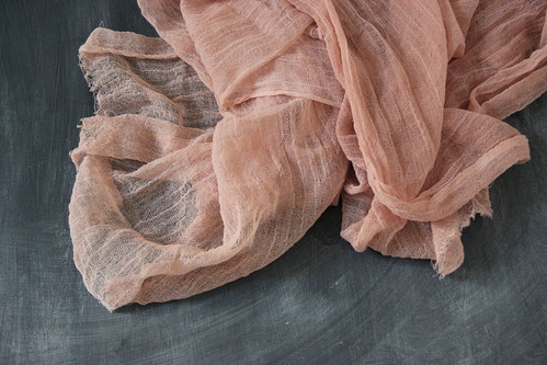 naturally dyed with avocado skins