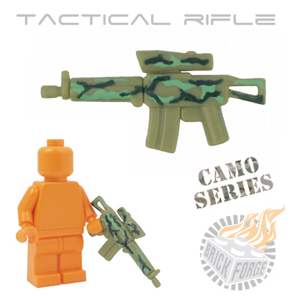 Tactical Assault Rifle - Olive Green (camouflage)
