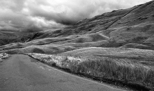 Honiston Tops - The English Lake District. Mono shots are so open to moody interpretation.