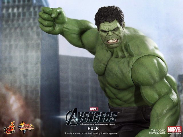 Hot Toys - The Avengers - Hulk Limited Edition Collectible Figurine_PR12