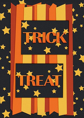 Trick Or Treat ATC by Lukasmummy