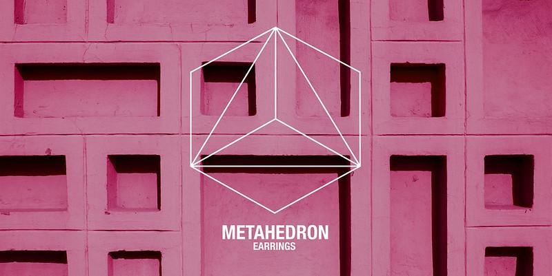 metahedron earrings lookbook
