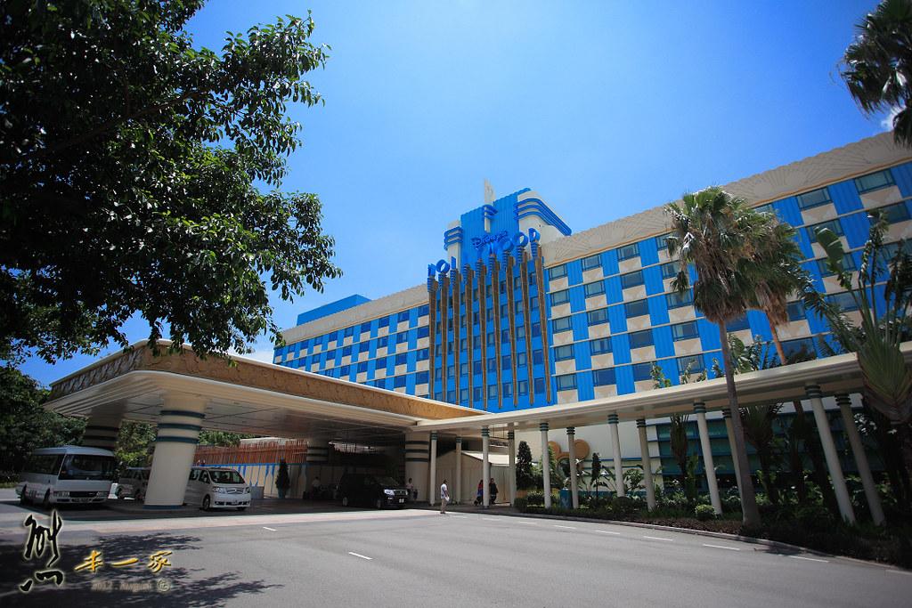 [香港親子家庭住宿] 迪士尼好萊塢酒店~餐廳|環境設施
