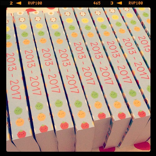 First batch of 5 year diaries are here!