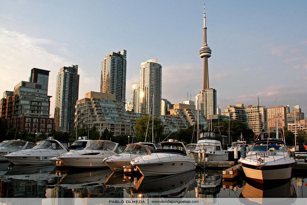 Toronto, una ciudad a la orilla del lago