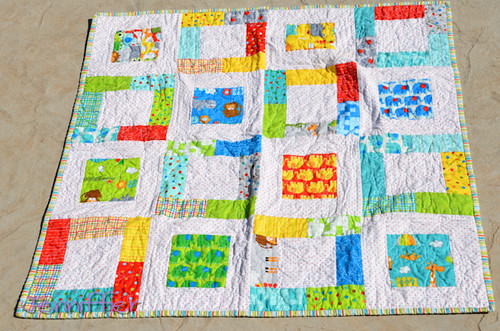 Jungle Bungle Easy Baby Quilt